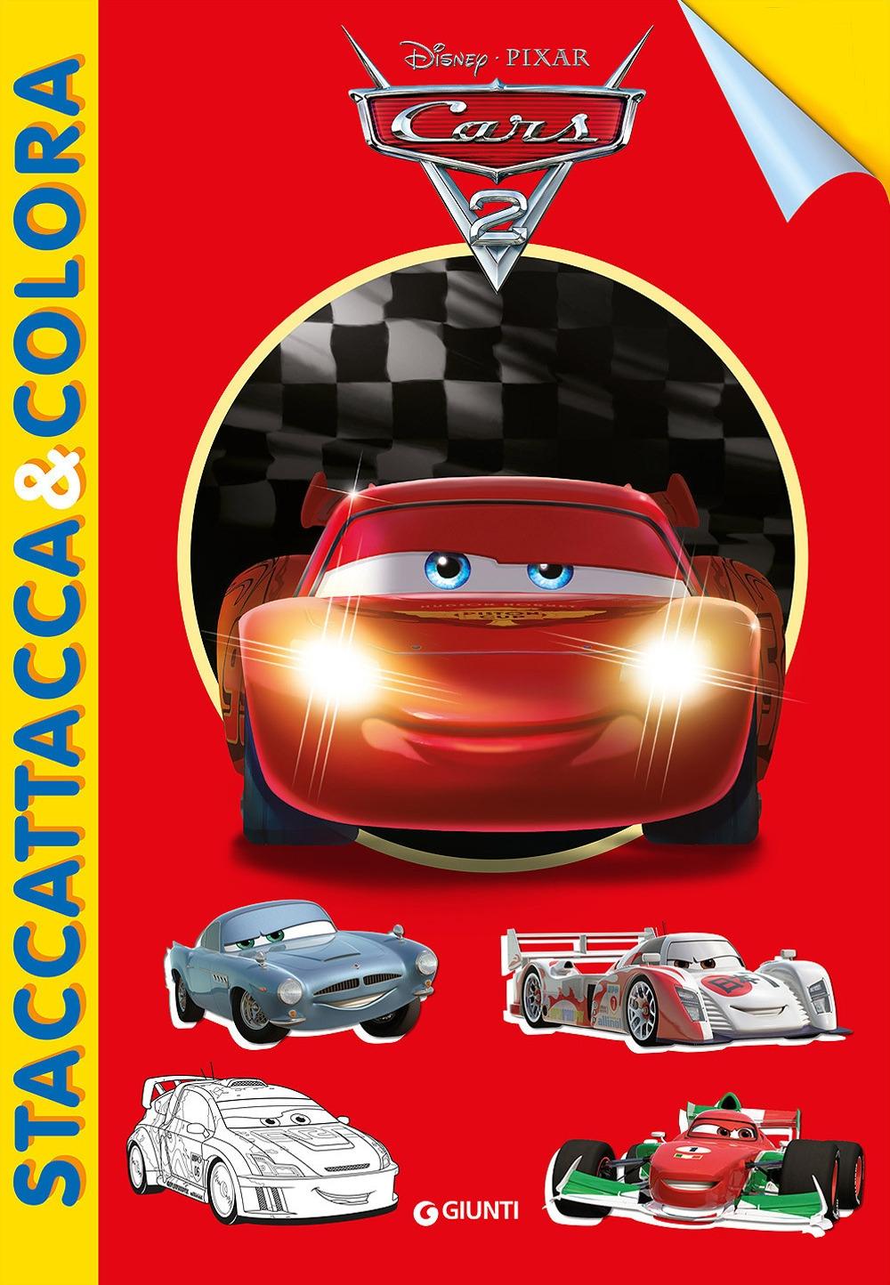 Cars 2. Staccattacca e colora. Con adesivi. Ediz. illustrata