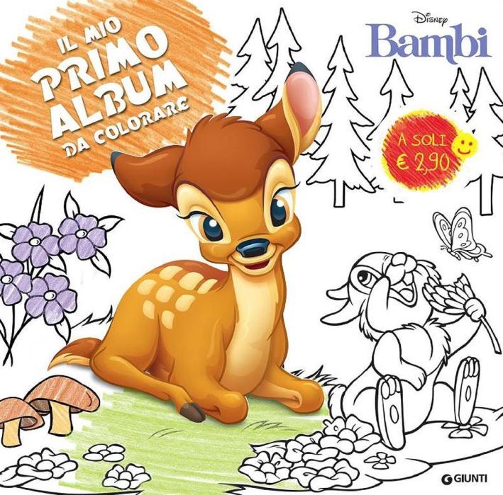 Bambi. Primo album da colorare. Ediz. illustrata
