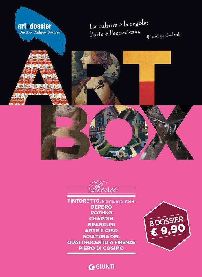 Dossier d'art. Box rosa: Tintoretto. RitrattiDeperoRothkoChardinBrancusiArte e ciboScultura del Quattrocento a FirenzePiero di Cosimo