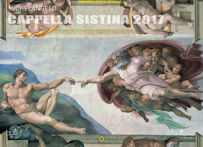 Michelangelo. Cappella Sistina 2017. Calendario.