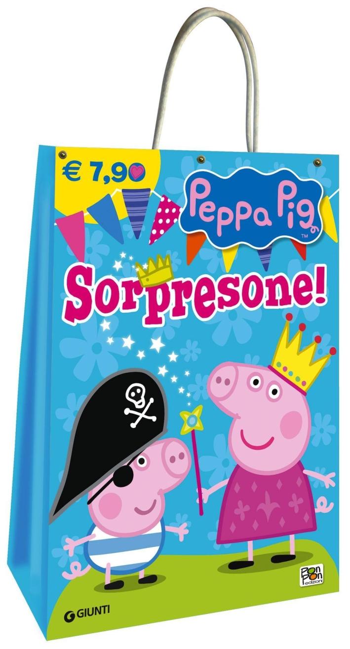 Sorpresone! Shopper bag Peppa Pig.