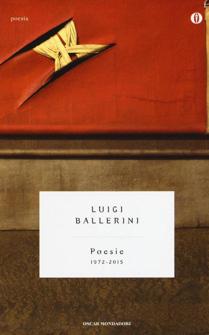 Poesie (1972-2015)