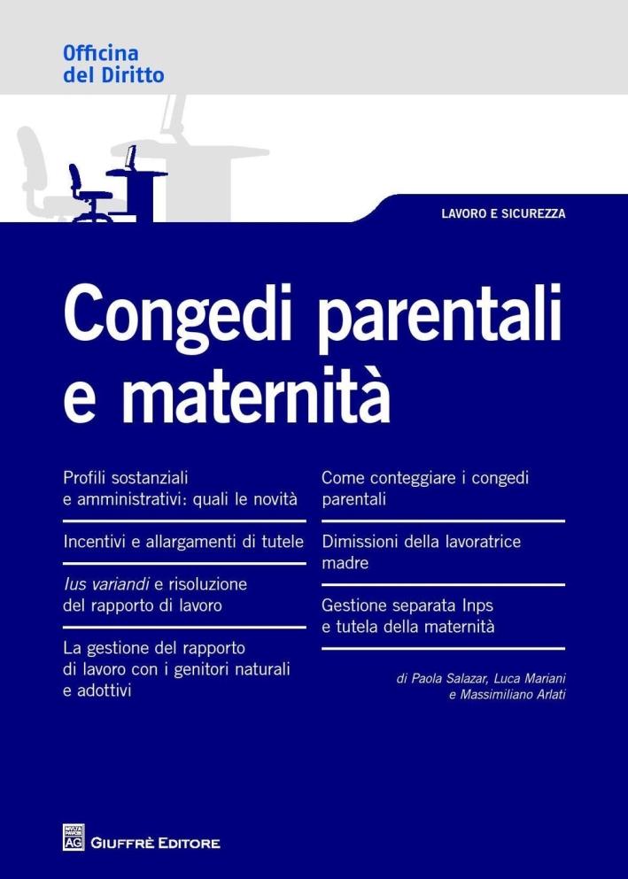 Congedi parentali e maternità