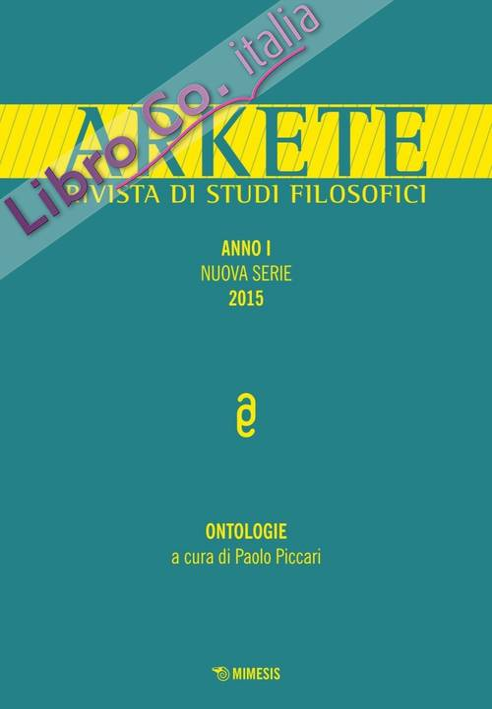 Arkete. Nuova serie (2015). Vol. 1.