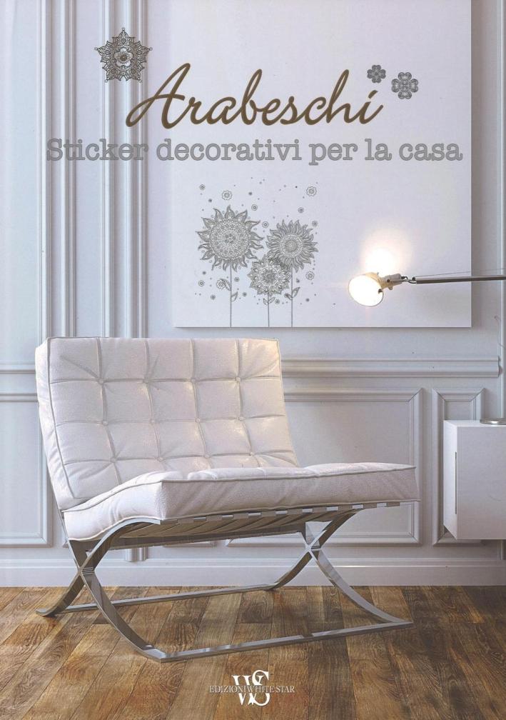 Arabeschi. Sticker decorativi per la casa.