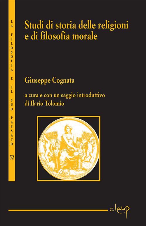 Studi di storia delle religioni e di filosofia morale.