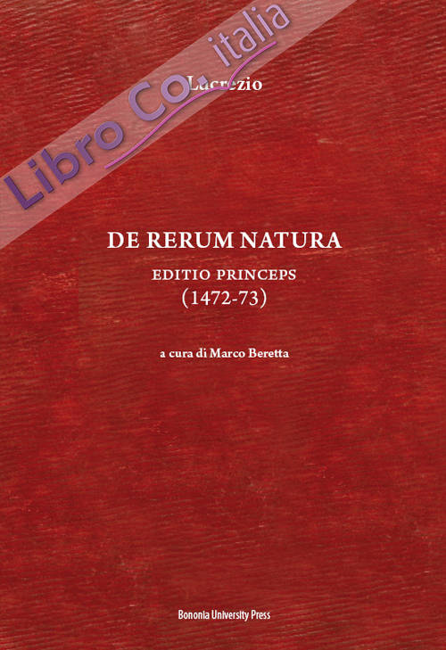 De rerum natura. Editio princeps (1472-73).