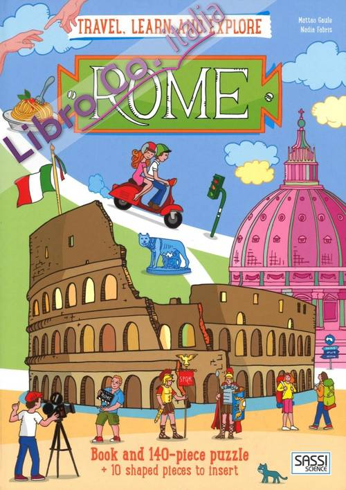 Rome. Travel, learn and explore. Con gadget.