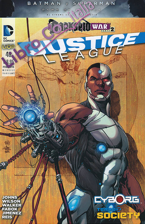 Justice league. Variant cyborg. Vol. 46