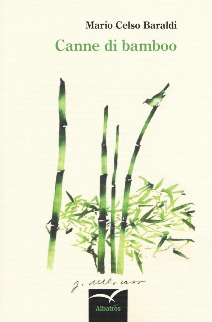 Canne di bamboo.