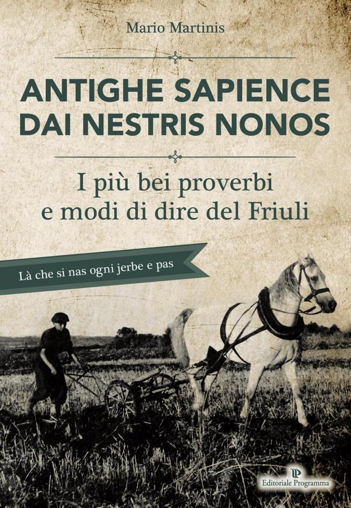 Antighe sapience dai nestris non. I più bei proverbi e modi di dire del Friuli.
