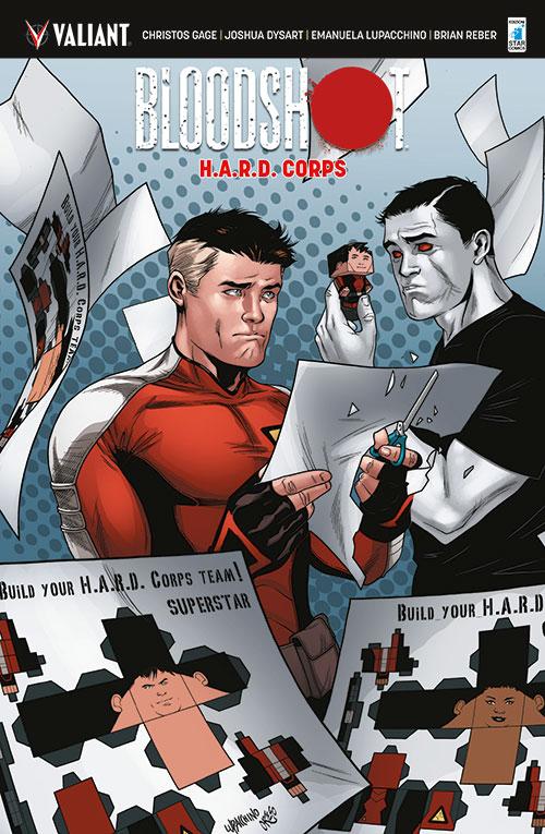 Bloodshot. H.A.R.D. corps. Vol. 4