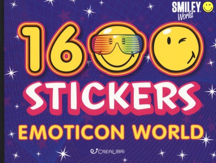 Emoticon world. Smiley world. Con adesivi. Ediz. illustrata