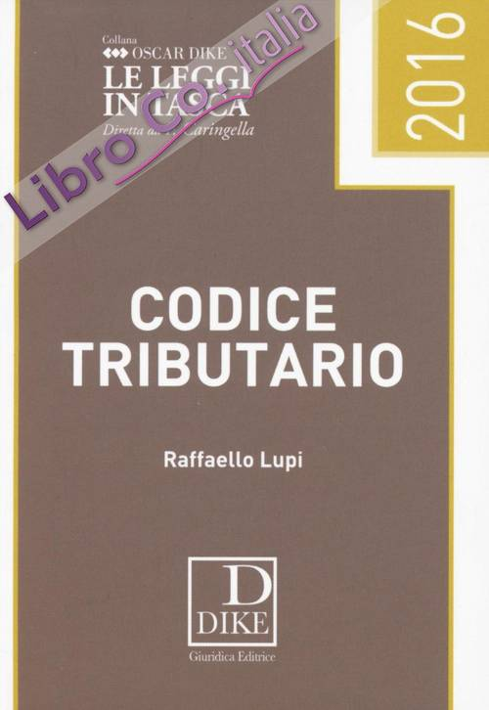 Codice Tributario Pocket.