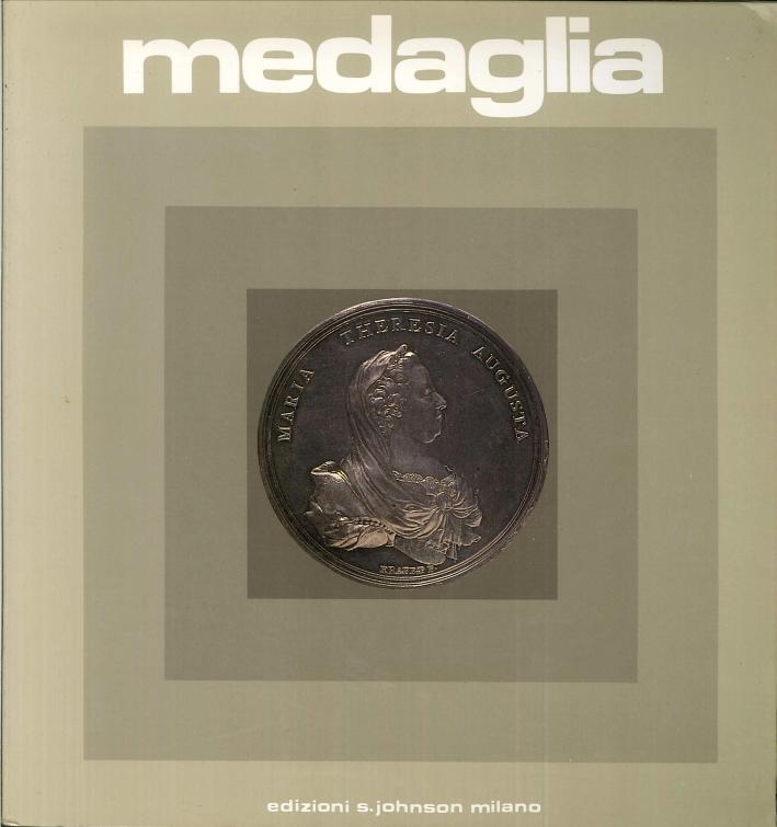 Medaglia. Anno XIII numero 20. 1985.