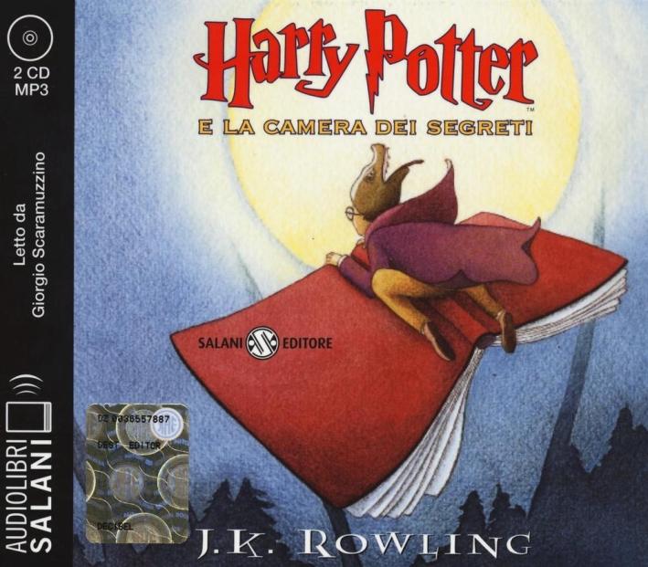 Harry Potter e la camera dei segreti. Audiolibro. 2 CD Audio formato MP3. Ediz. integrale.