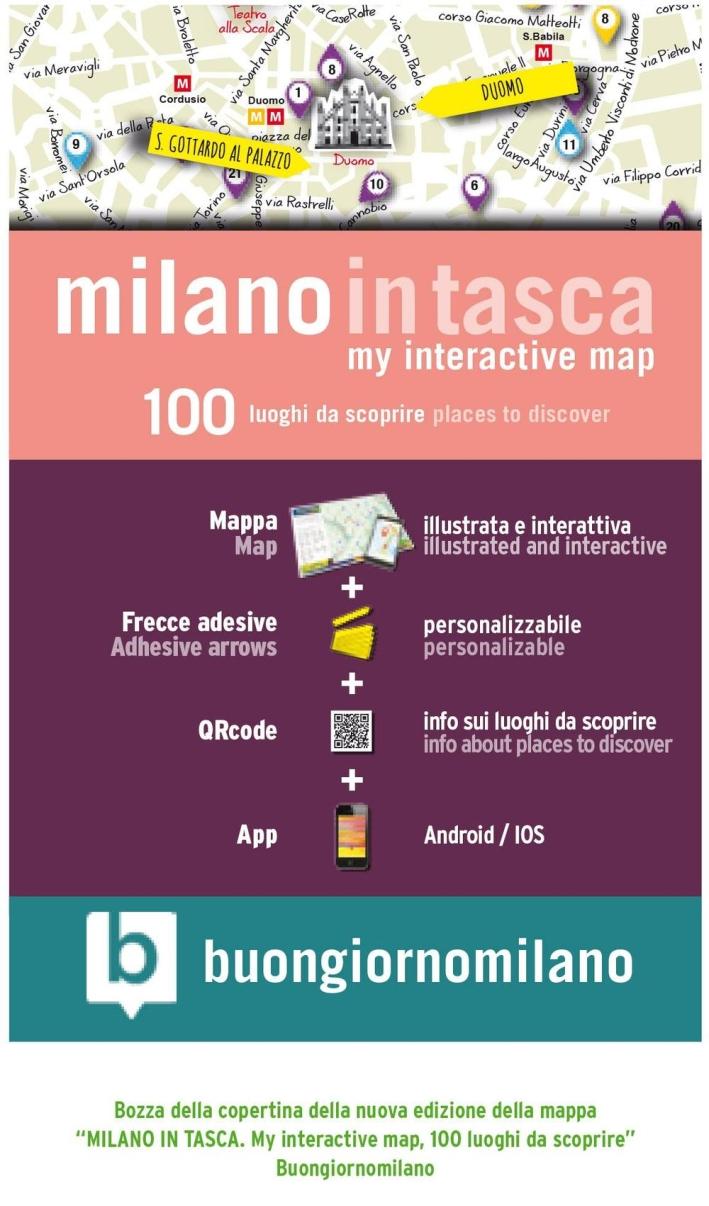 Milano in tasca. 100 luoghi da scoprire.