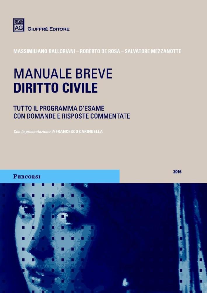 Diritto civile. Manuale breve.