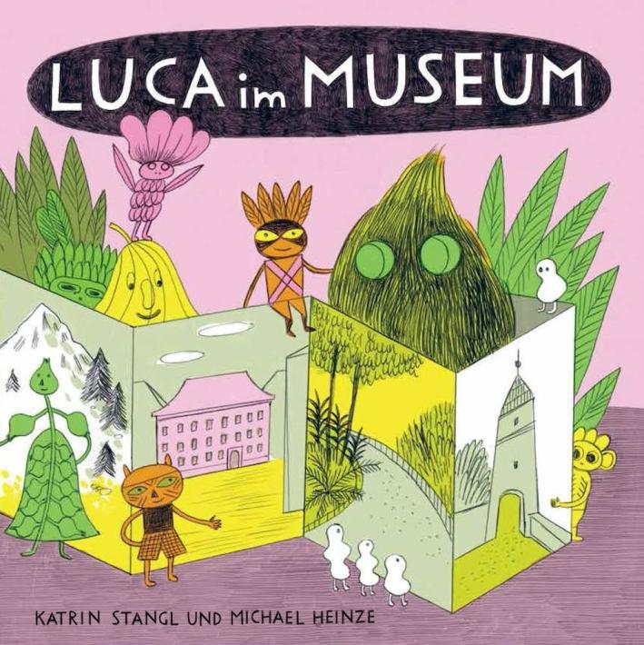 Luca im museum.