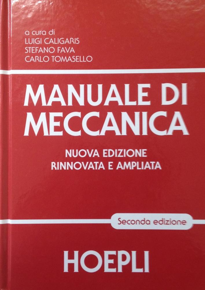 Manuale di meccanica.
