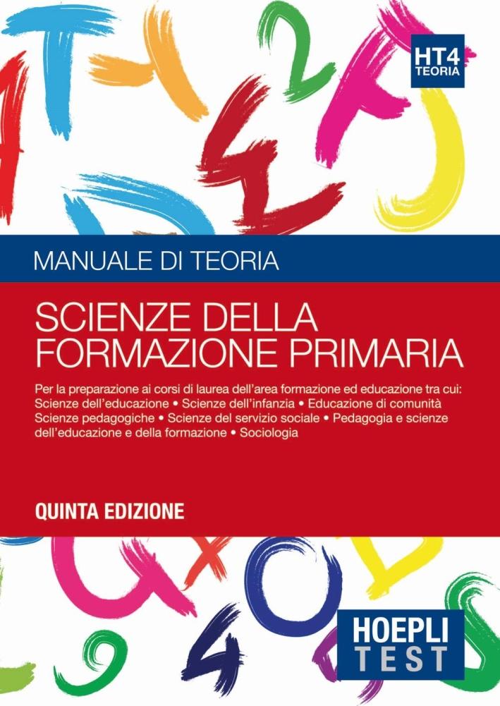 TEORIA 4 - FORMAZ.PRIMARIA - TEST.
