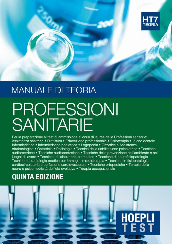TEORIA 7 - PROFESS.SANITARIE - TEST.