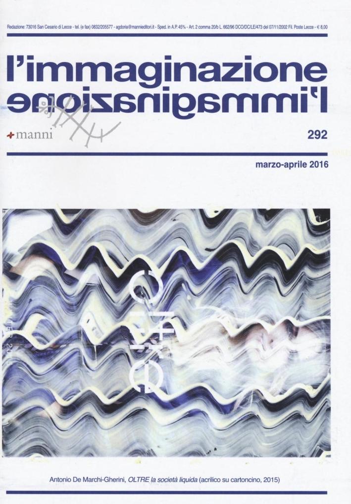 L'immaginazione. Vol. 292.