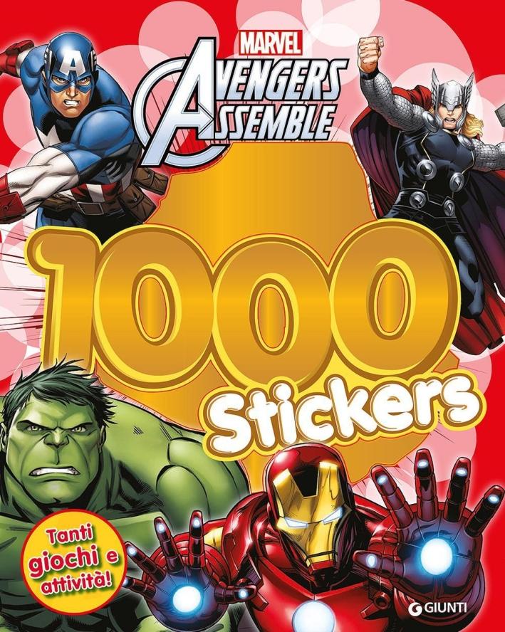 Avengers assemble. 1000 stickers. Con adesivi. Ediz. illustrata