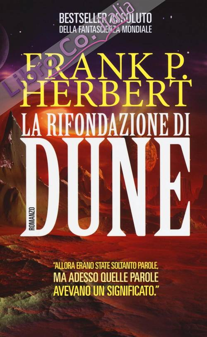 La rifondazione di Dune.