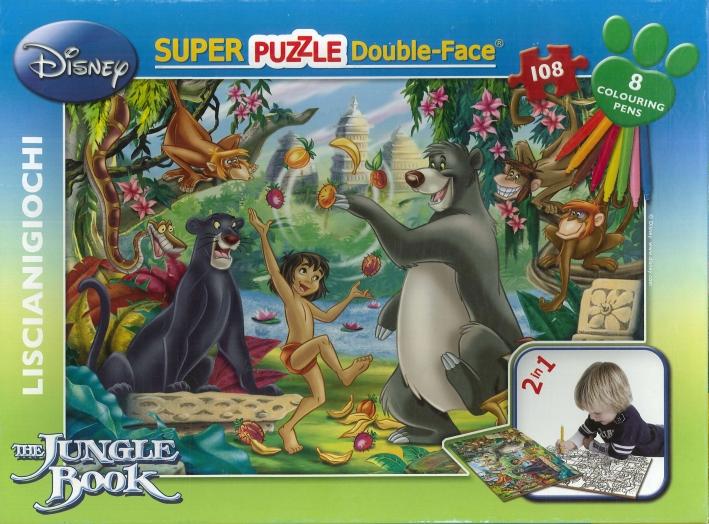 Super Puzzle Double-Face il Libro della Giungla.