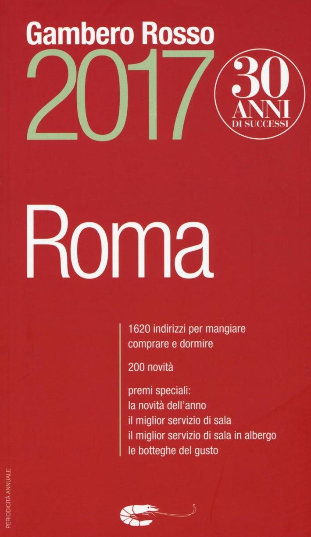 Roma del Gambero Rosso 2017