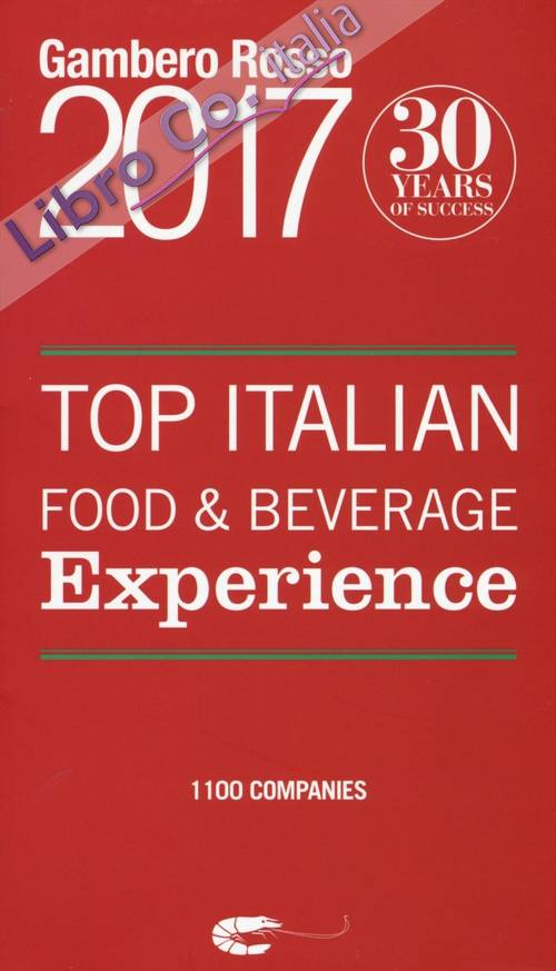 Top italian food & beverage experience 2017.