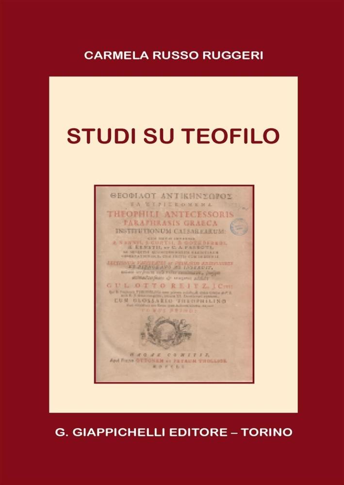 Studi su Teofilo.