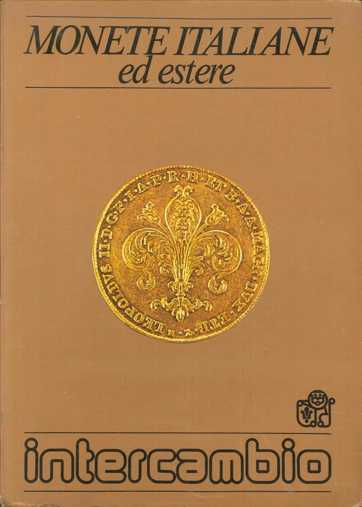 Monete italiane ed estere