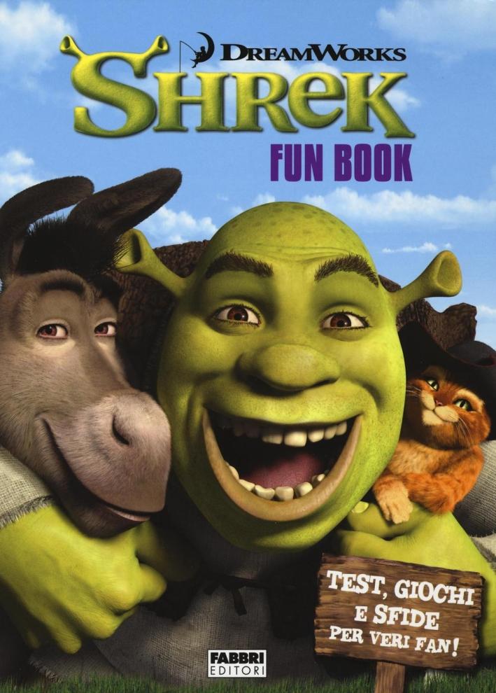 Shrek. Fun book. Ediz. illustrata