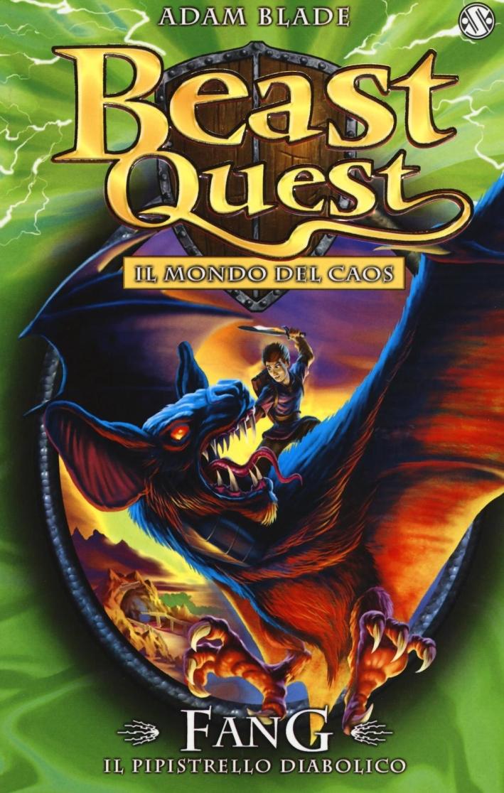 Fang. Il pipistrello diabolico. Beast Quest.
