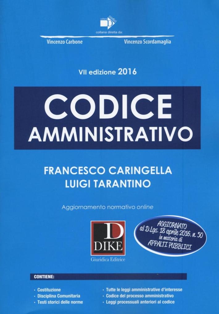 Codice amministrativo.