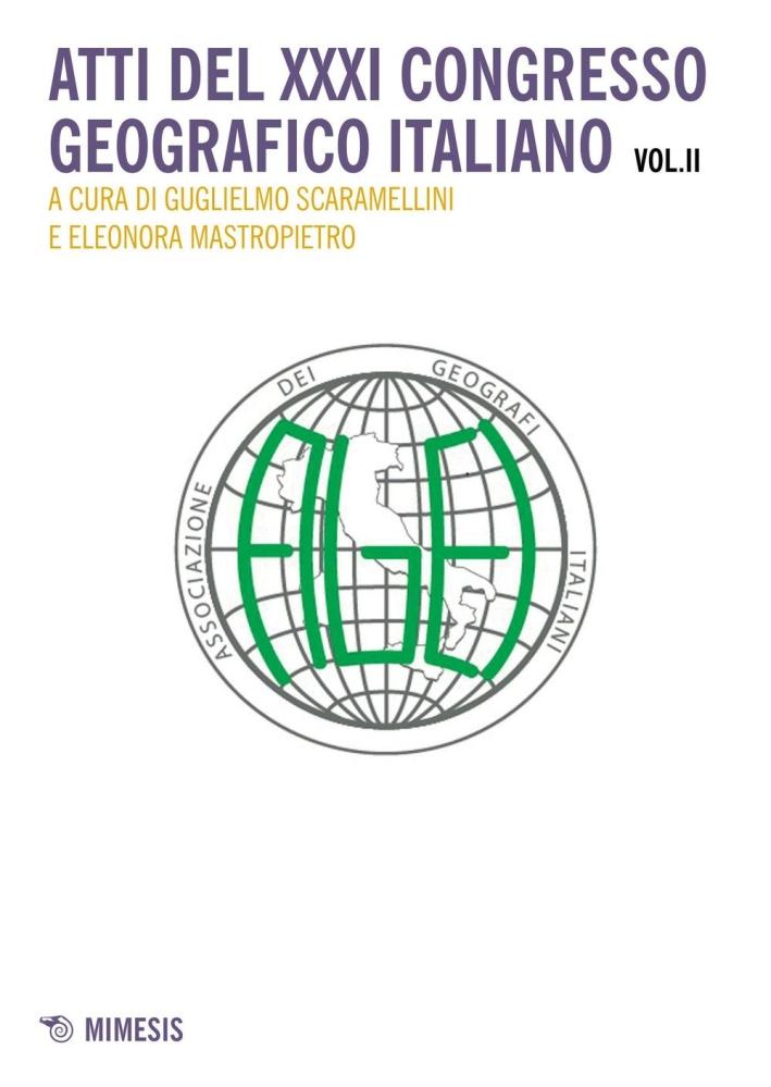 Atti del 31° Congresso geografico italiano. Vol. 2.