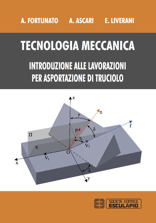 Tecnologia meccanica. Introduzione alle lavorazioni per asportazione di trucioli.