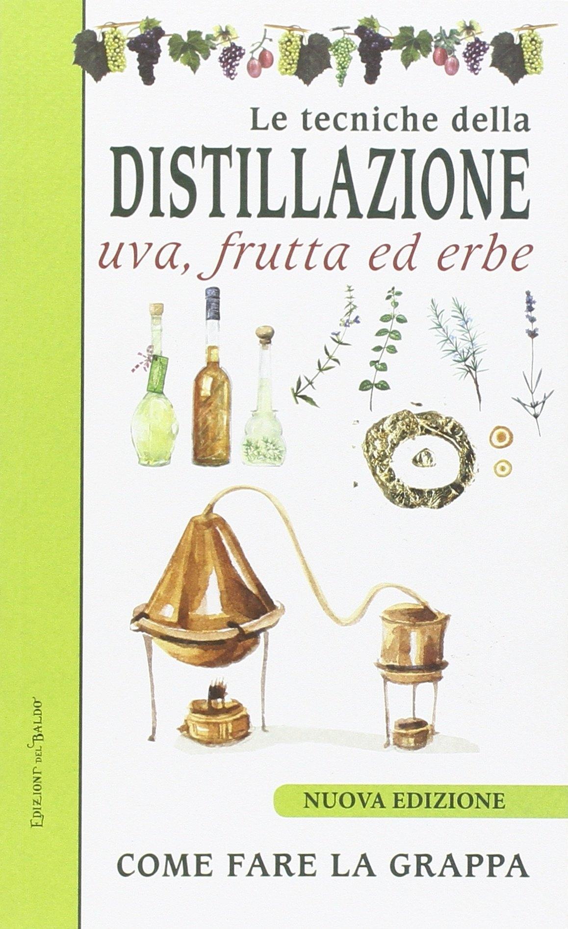 Le tecniche di distillazione. Uva, frutta ed erbe.