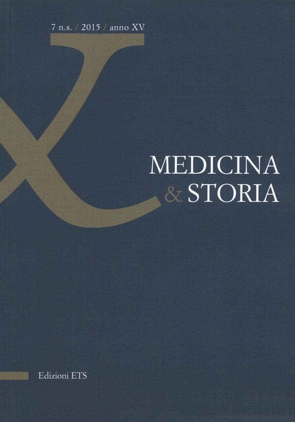 Medicina & storia (2015). Vol. 7.