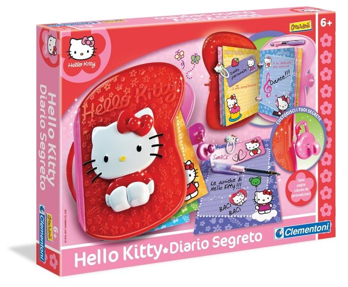 Hello Kitty - Crea il Tuo Diario. Clementoni 15850.