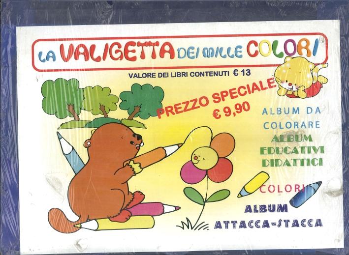 La Valigetta dei Mille Colori. Album Da Colorare. Colori. Album Attacca-Stacca.