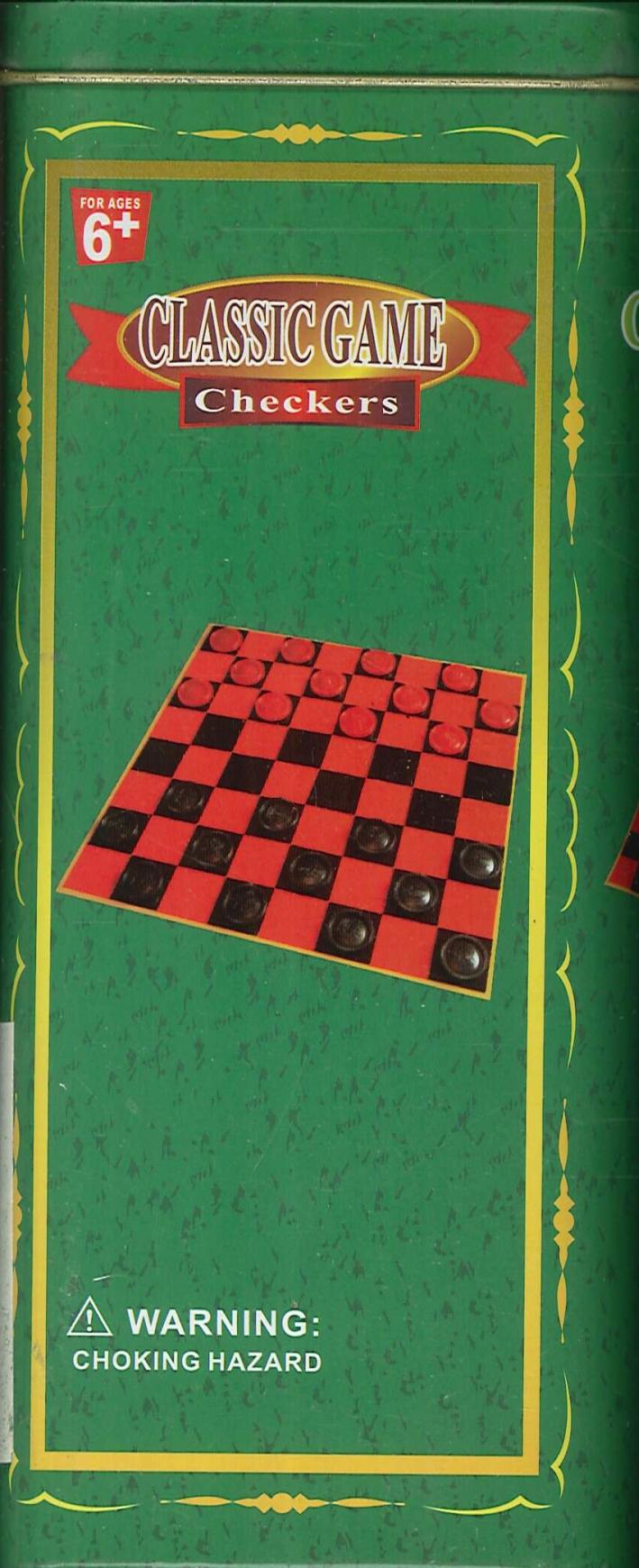 Classic Game. Checkers. Dama.