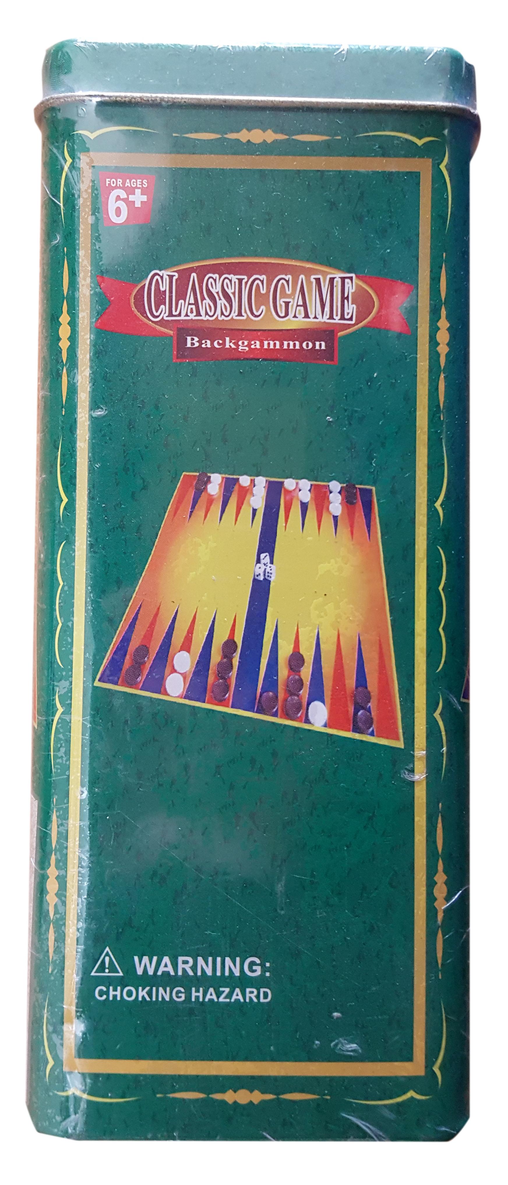 Classic Game. Backgammon
