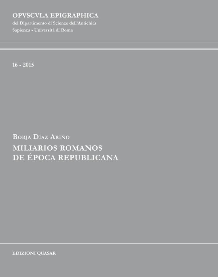 Miliarios Romanos De Época Repubblicana.