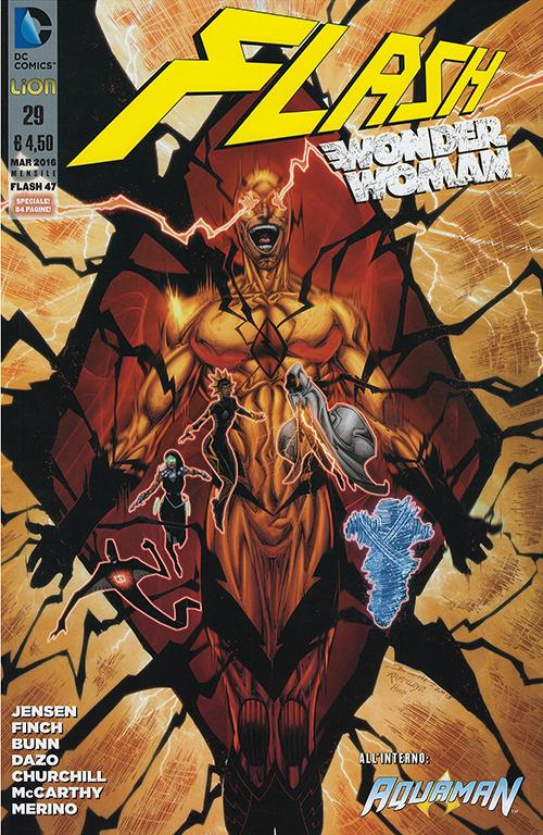 Flash. Wonder woman. Vol. 29