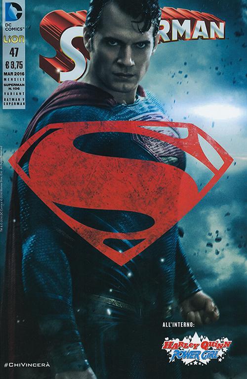 Superman. Nuova serie variant fotografica. Vol. 106