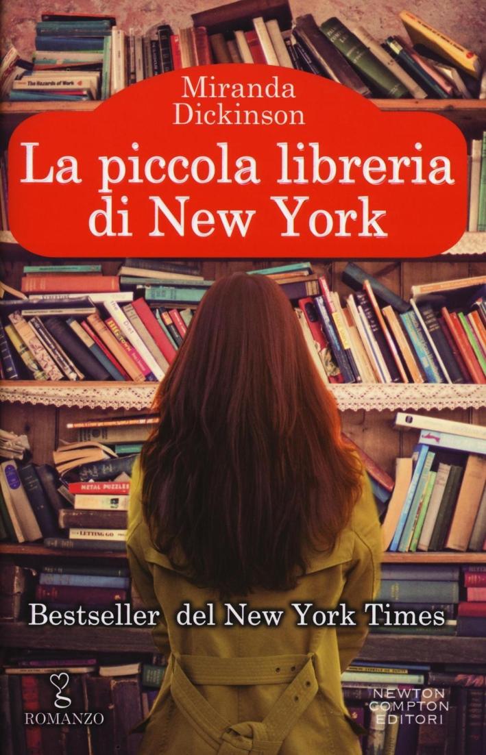 Una piccola libreria a New York.