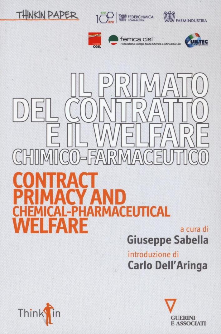 Primato contratto Welfare chimico-farmaceutico.